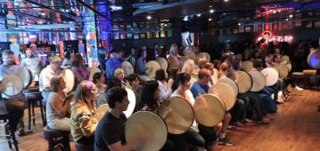 Interactive Irish Drumming with Creative Events